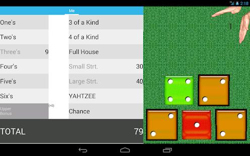 how to play yahtzee to go