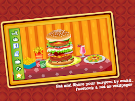 Screenshot of Burger Maker : Cooking Game