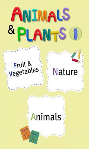 유아영어카드3_Animals Plants Ⅰ