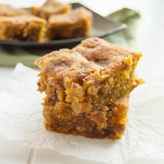Pumpkin Butterfinger Bars