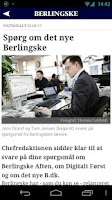 Screenshot of Berlingske
