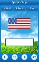 Screenshot of Knowledge Taps™: Name Flags