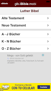 Bible - Luther Bibel - Deutsh - screenshot
