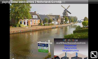Screenshot of spy ip camera