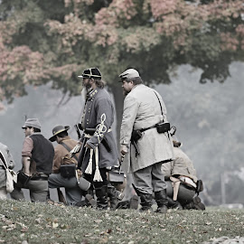 by Barbara Noles - News & Events US Events ( reenacting, soldier, civil war, historical )
