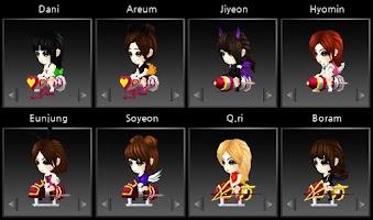 Screenshot of T-ara Target Game (Full Ver)