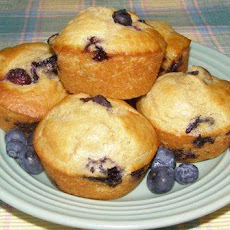 Blueberry Orange Muffins (Diabetic Friendly)