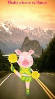 Screenshot of Dancing Pig