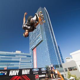 Dive Bomb by Eric Terhorst - Sports & Fitness Skateboarding