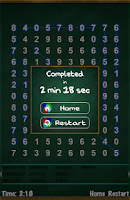 Screenshot of Number Search Puzzle