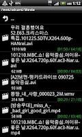 Screenshot of iMPlayer+ (iFlux Movie Player)