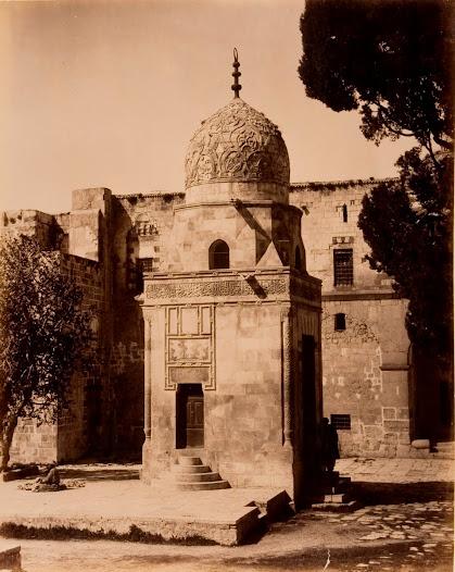 Sabil (fountain) of Qa'tibay near Al-Aqsa Mosque