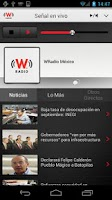 Screenshot of WRadio México para Android