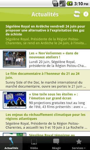 Ma Région Poitou-Charentes
