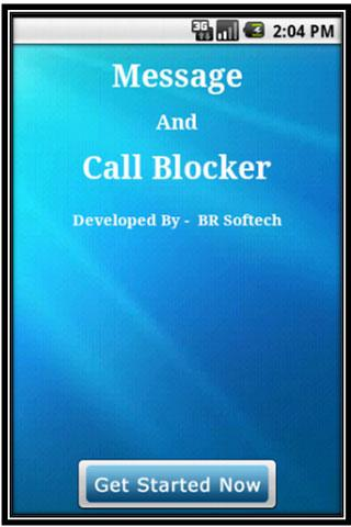 Message and call blocker