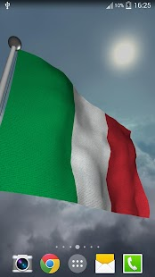Italy Flag - LWP - screenshot