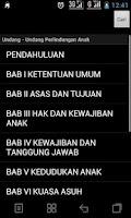 Screenshot of UU Perlindungan Anak