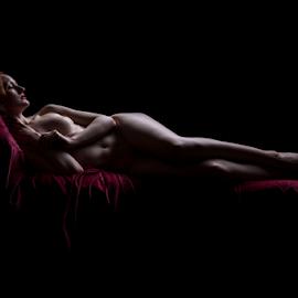 Sleeping Beauty by Paul Phull - Nudes & Boudoir Artistic Nude ( body, pose, art nude, beauty, sleeping, curves )