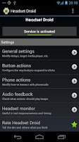 Screenshot of Headset Droid