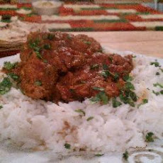 Myree's Chicken Madras