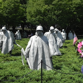 Korean Memorial by Ray Stevens - Buildings & Architecture Statues & Monuments