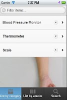 Screenshot of AGE Blood Pressure Monitor
