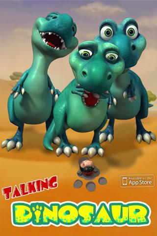 talking-dinosaur-killer for android screenshot