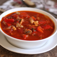 Tomato Chicken Chili