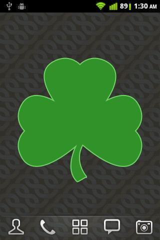 愛爾蘭三葉草動態壁紙