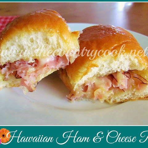 Hawaiian Ham & Cheese Rolls