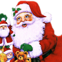 Laughing Santa Claus icon