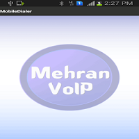 Screenshot of Mehran Voip
