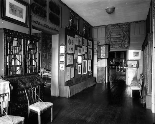 Gardner designed these cabinets to display her collection of prints and drawings by such masters as Michelangelo, Raphael, Whistler, and—most important to this story—Edgar Degas.