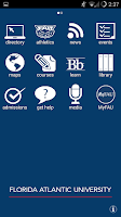Screenshot of FAU Mobile