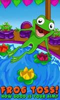 Screenshot of Frog Toss!
