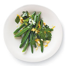 Citrus-Nut Green Beans