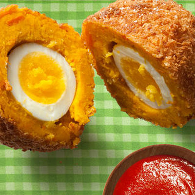 Kabocha Squash Scotch Eggs