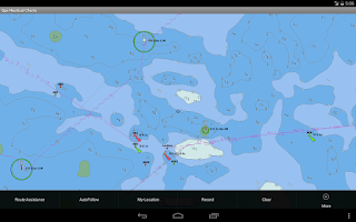 Screenshot of Marine/Nautical Charts-UK/IRL