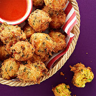 Scallion Hush Puppies