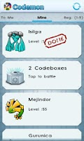 Screenshot of Codemon (Barcode Monsters)