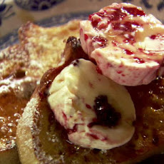 French Toast with Berry Butters