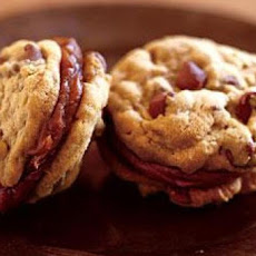 Milk Chocolate-Peanut Butter Sandwich Cookies