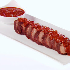 Cocoa-Rubbed Pork Tenderloin with Chocolate Tomato Sauce