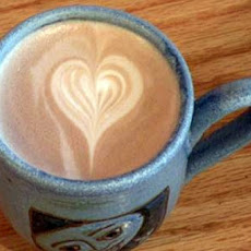 Valentine's Day Latte