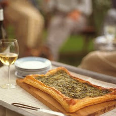 Sorrel and Onion Tart