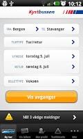 Screenshot of Kystbussen