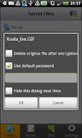 Screenshot of Koala Encrypt