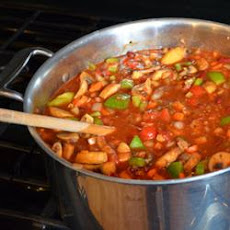 Lucie's Vegetarian Chili