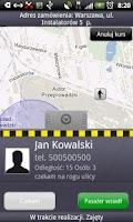 Screenshot of iTaxi.pl Kierowca