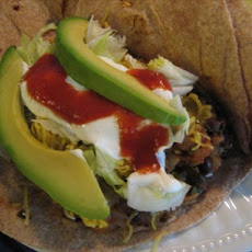 Aunt Jenny's Black Bean Burritos